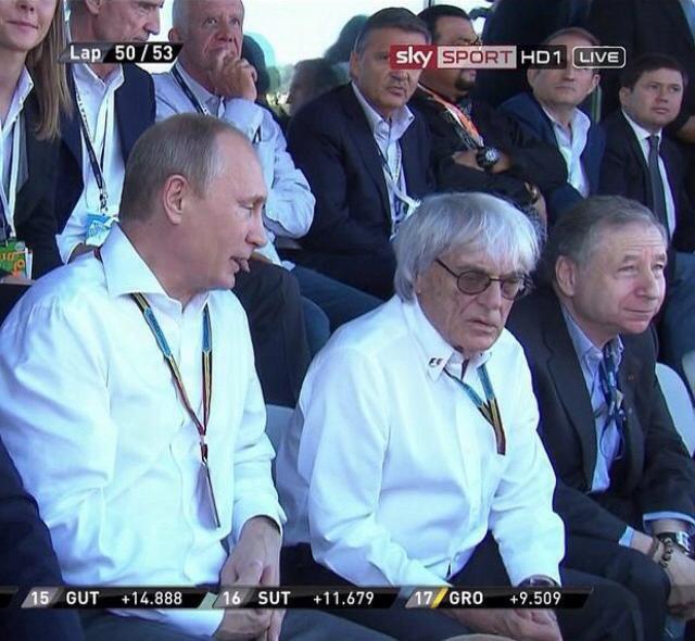 Как интернет отреагировал на Гран-при «Формулы-1» в России. Изображение № 1.