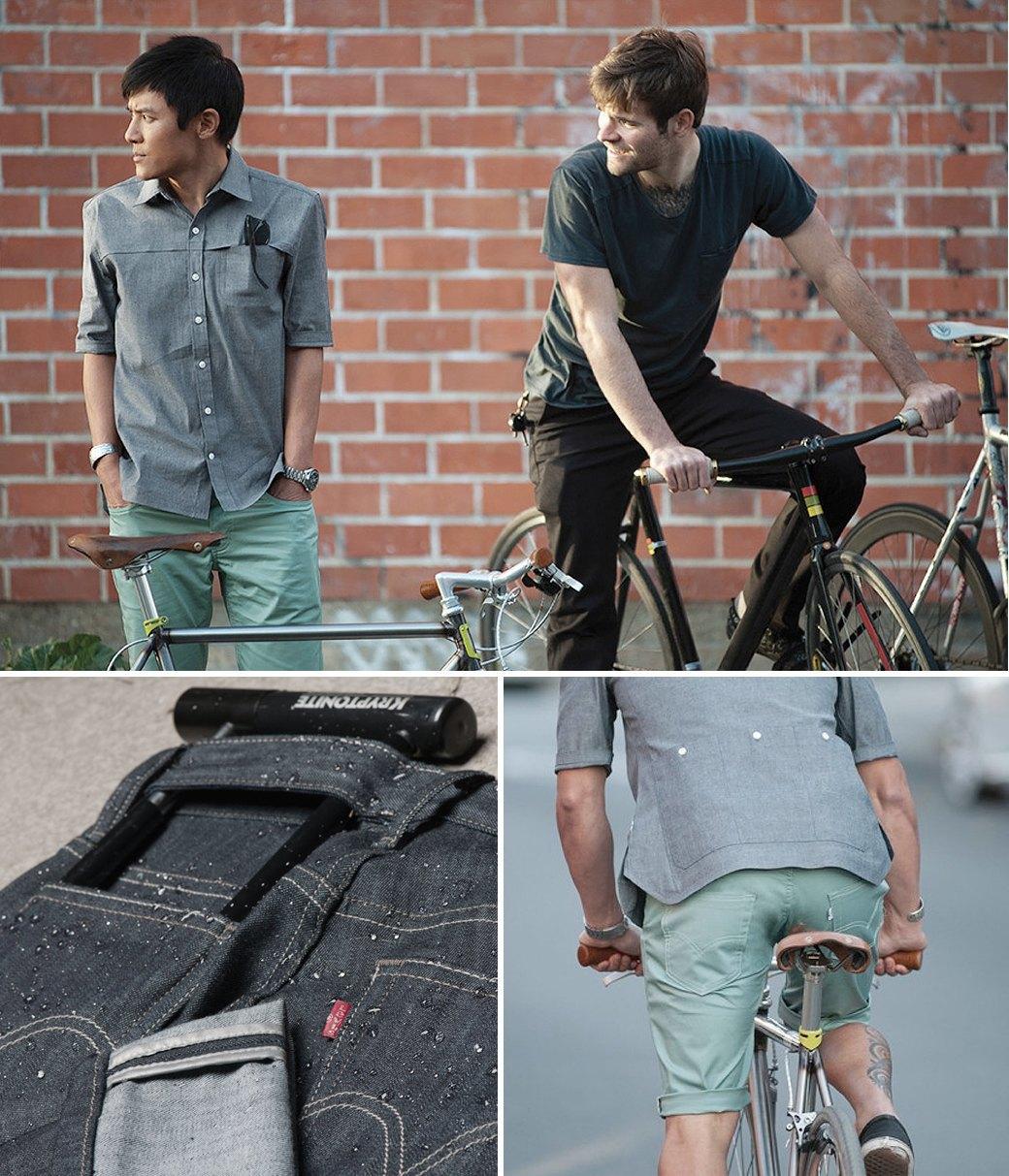 7 марок одежды для городских велосипедистов. Изображение № 14.