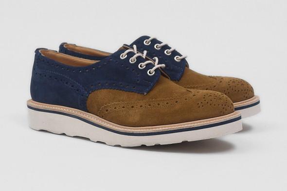 Совместная коллекция обуви марки Tricker's и Present. Изображение № 3.