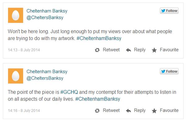 Бэнкси завел твиттер, предположили британские СМИ. Изображение № 2.