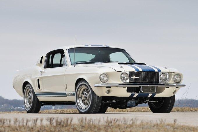В США на аукционе продали самый дорогой Ford Mustang. Изображение № 1.
