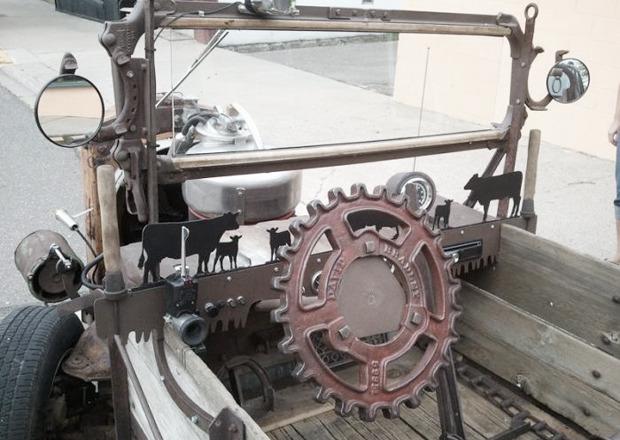 Мусоровоз: 7 примеров, как сделать машину из подручных материалов. Изображение № 3.