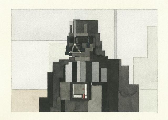 Адам Листер: Иконы поп-культуры в 8-битной живописи. Изображение № 7.