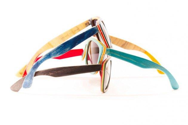 Марка Proof выпустила солнцезащитные очки из скейтбордов. Изображение № 1.