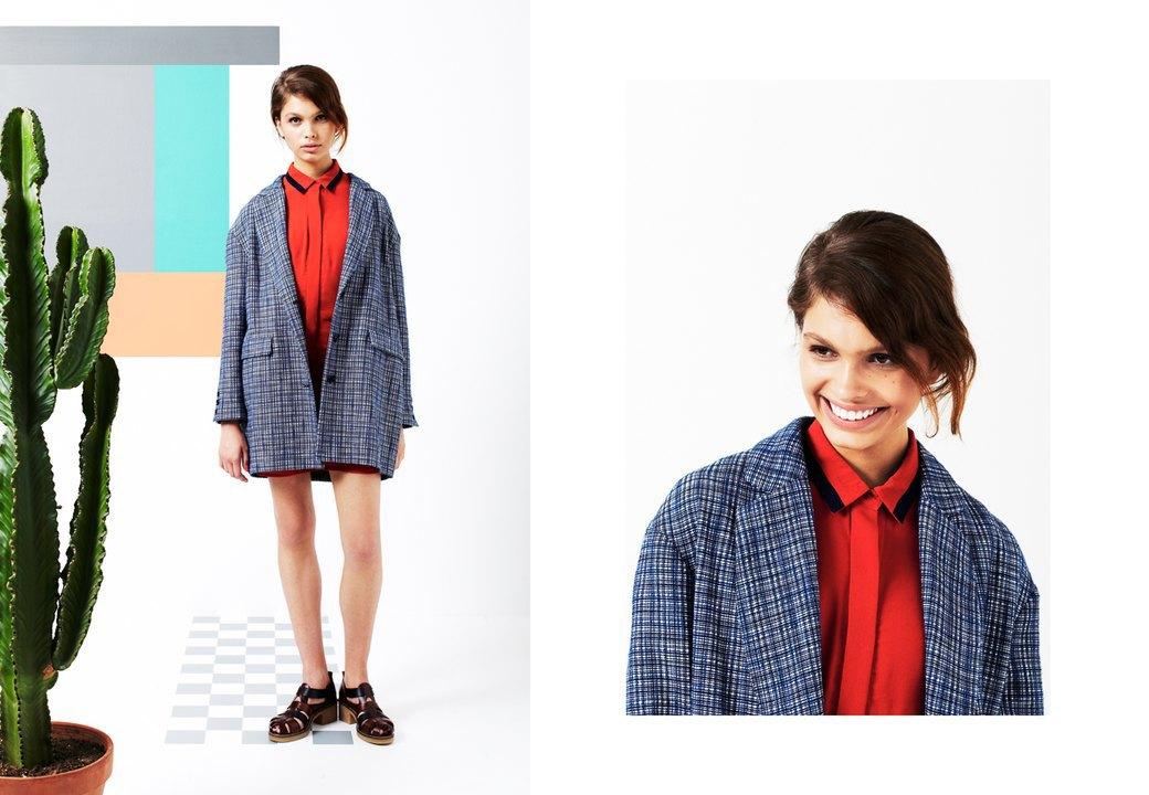 Магазин Kixbox выпустил лукбук весенней коллекции одежды. Изображение № 2.