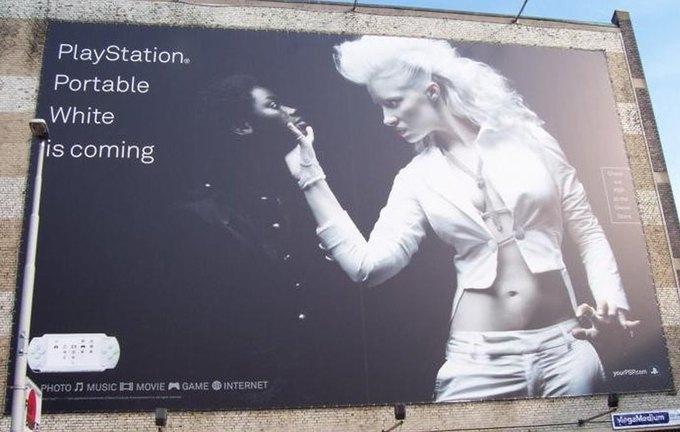 Как Sony снимает неполиткорректную и скандальную рекламу. Изображение № 2.