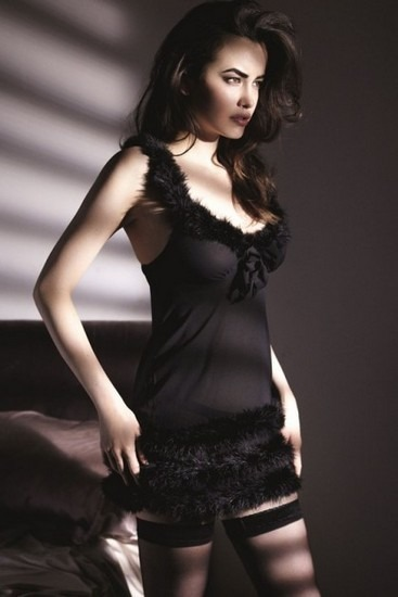 Австралийская модель Сара Стивенс снялась в рекламе марки Myla. Изображение № 5.