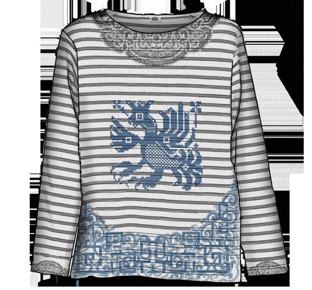 Эксперимент FURFUR: Старорусские узоры как способ разукрасить мужской гардероб. Изображение № 3.