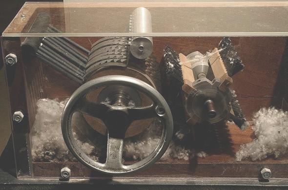 Наглядный экспонат — вычесывание металлическими щетками. Изображение № 7.