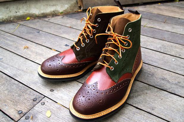 Дизайнер Марк МакНейри выпустил осеннюю коллекцию обуви. Изображение № 2.