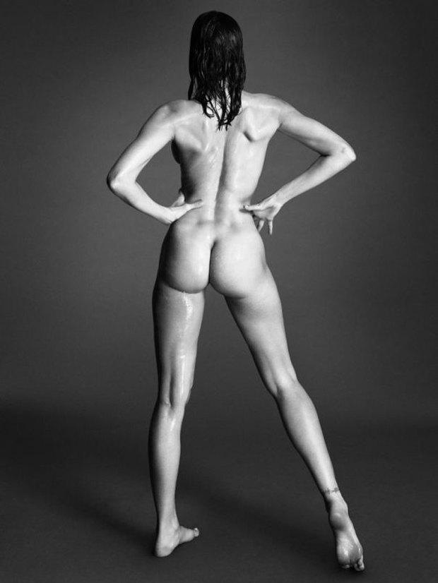 Аня Рубик, Наоми Кэмпбелл и другие известные модели разделись для Interview Magazine. Изображение № 3.