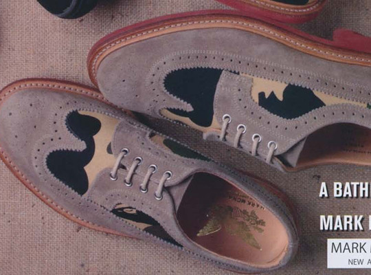 Коллекция обуви Марка МакНэйри, Sperry Top-Sider и марки Bape. Изображение № 4.