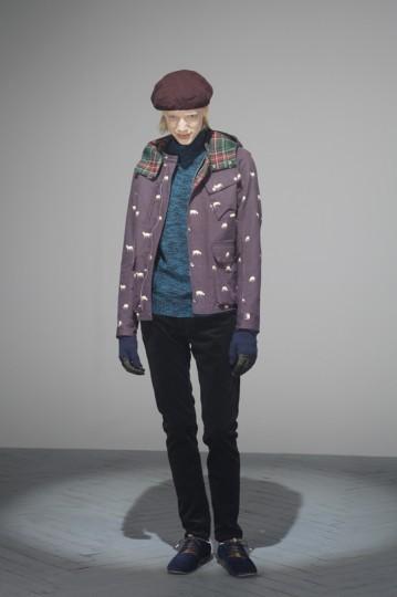 Японская марка Undercover выпустила лукбук осенней коллекции одежды. Изображение № 13.
