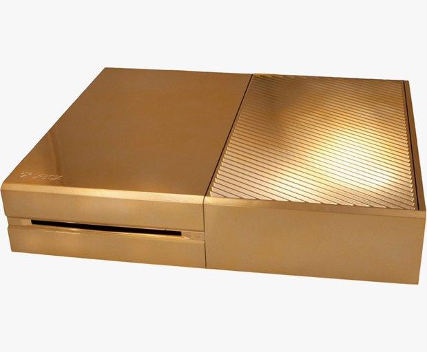 В английском магазине Harrods появилась золотая консоль Xbox One. Изображение № 1.