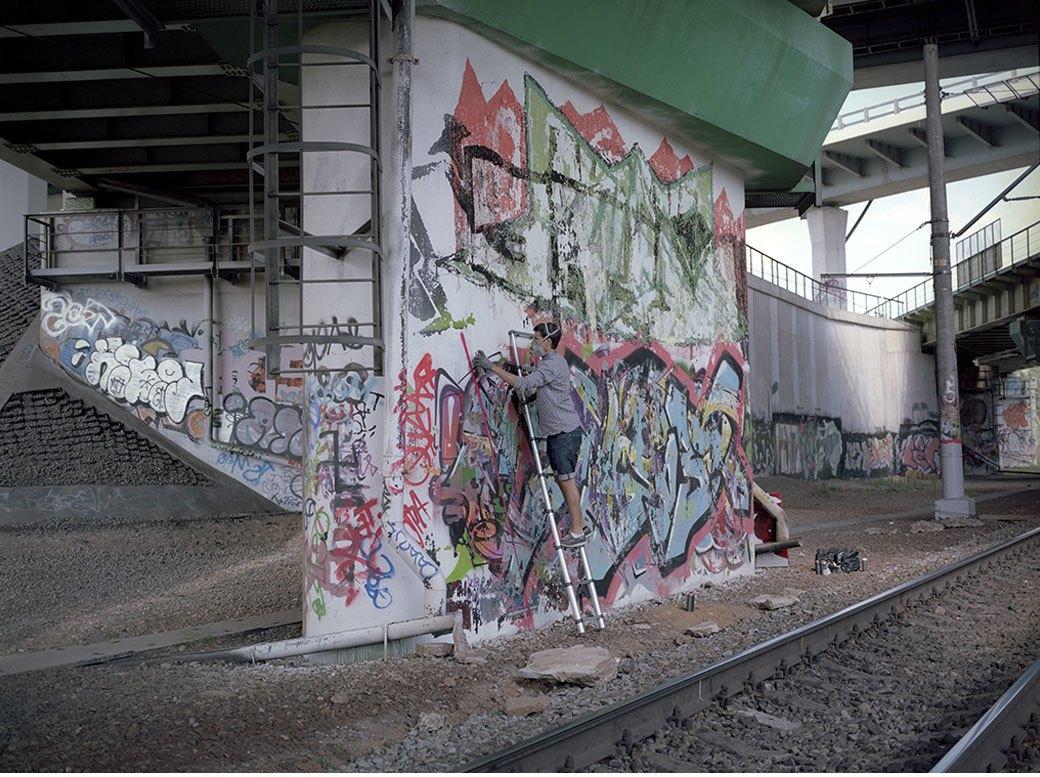 FURFUR представляет альманах российского стрит-арта Wall Elements и интервью с художником Adno. Изображение № 4.