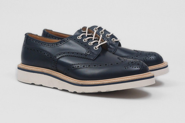 Совместная коллекция обуви марки Tricker's и Present. Изображение № 5.