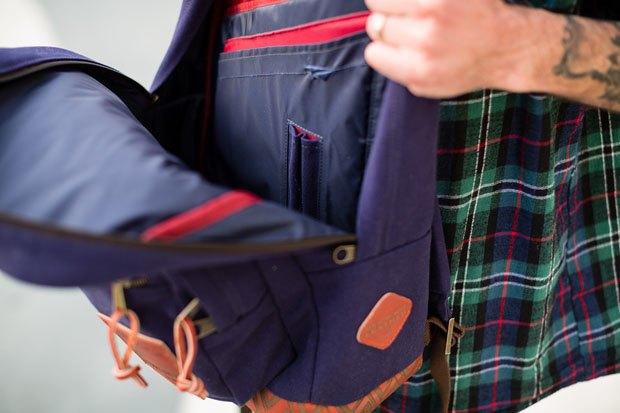 Марки Benny Gold, Huf и JanSport выпустили капсульную коллекцию рюкзаков. Изображение № 5.