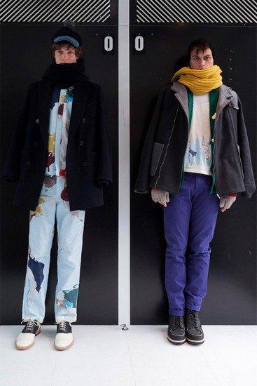 Марка Band Of Outsiders опубликовала лукбук осенней коллекции одежды. Изображение № 2.