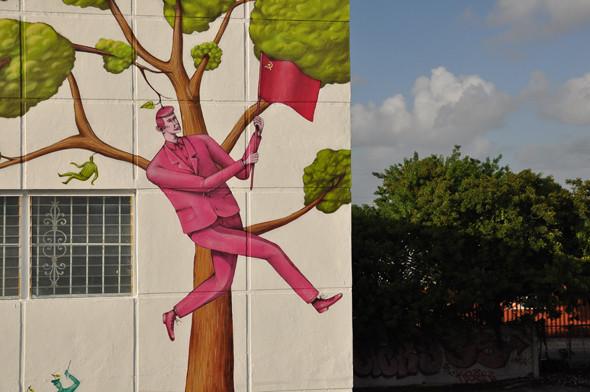 Скетчбук: Участники граффити-дуэта из Киева Interesni Kazki рассказывают о своих лучших работах. Изображение № 41.