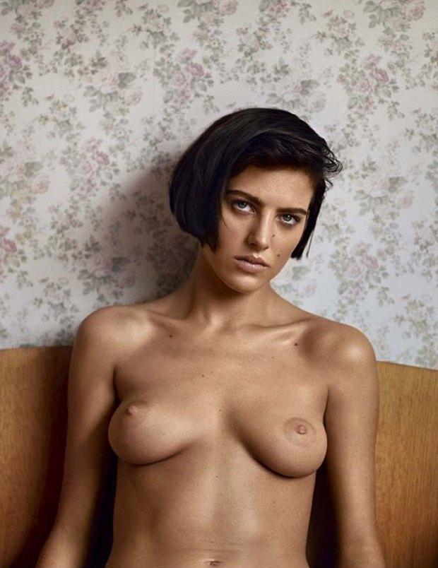 Модель Элиза Каммингз снялась обнажённой для журнала Lui Magazine. Изображение № 3.