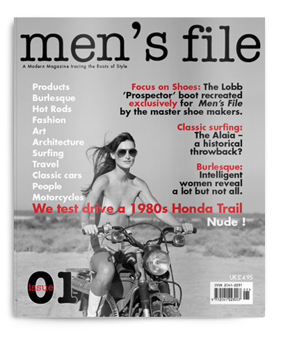 Special Issue: Men's File — журнал о вещах, не выходящих из моды. Изображение № 2.