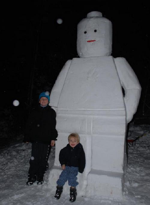 Что ты лепишь: Альтернативные снеговики со всего мира. Изображение №12.