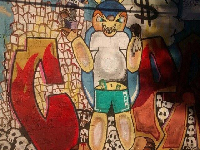 Такой футбол нам не нужен: Граффити против чемпионата мира. Изображение № 17.