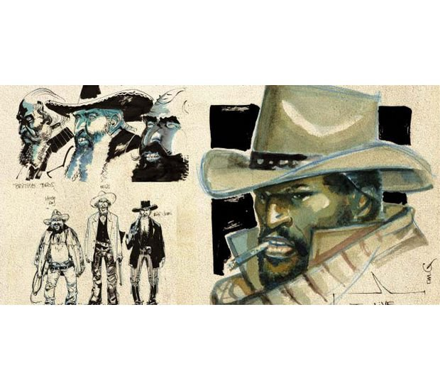 Вышли комиксы по фильму Тарантино «Джанго освобожденный». Изображение № 11.