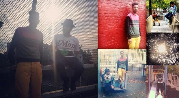 Хип-хоп коллектив Das Racist снялся в осеннем лукбуке марки Moss. Изображение № 9.