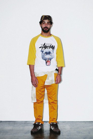 Марка Stussy опубликовала лукбук весенней коллекции одежды. Изображение № 18.