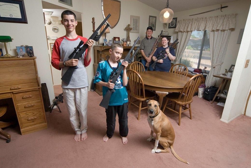 «Дерево свободы нужно поливать кровью»: Американцы о том, зачем им огнестрельное оружие. Изображение № 8.