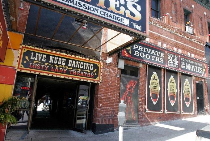 В Сан-Франциско закрылся легендарный стрип-клуб Lusty Lady. Изображение № 1.