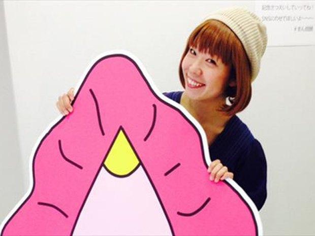 Японская художница пыталась построить лодку в форме вагины. Изображение № 2.