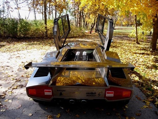 Американец за 17 лет собрал у себя в подвале реплику Lamborghini Countach. Изображение № 3.