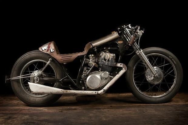Испанская мастерская El Solitario изготовила мотоцикл Winning Loser. Изображение № 21.