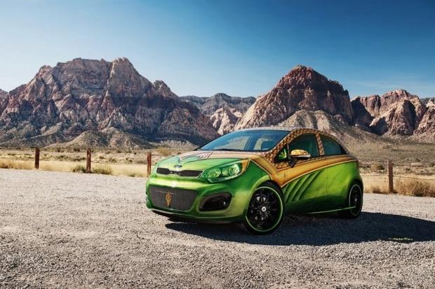 Kia показала пять из восьми «супергеройских» автомобилей. Изображение № 3.