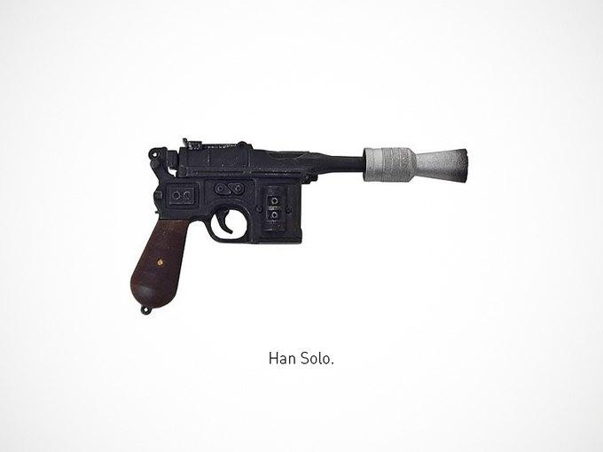 Итальянский дизайнер представил коллекцию плакатов знаменитого оружия. Изображение № 11.