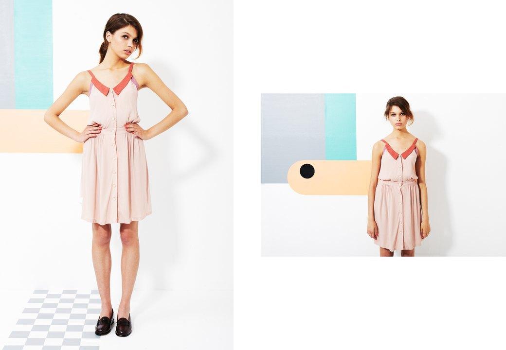 Магазин Kixbox выпустил лукбук весенней коллекции одежды. Изображение № 13.