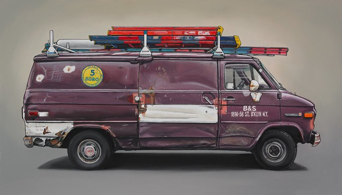 Кевин Сир: Граффити на фургонах как символ города. Изображение № 12.