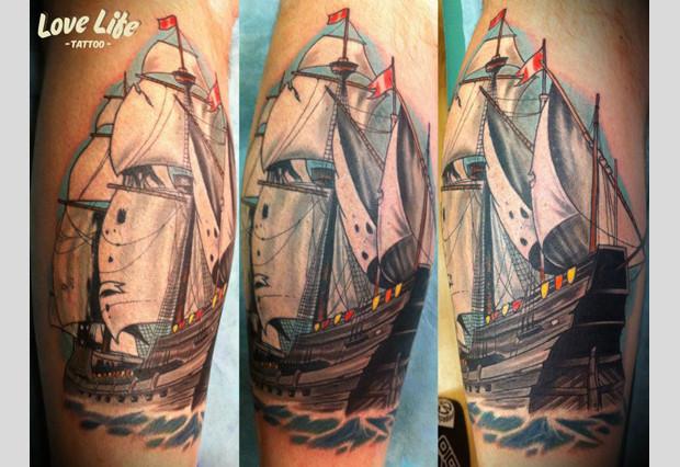 Избранные работы студии Love Life Tattoo. Изображение № 13.