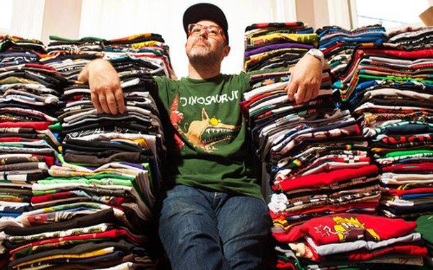 Minor Thread: Тысячедневный марафон футболок с логотипами музыкантов. Изображение № 40.
