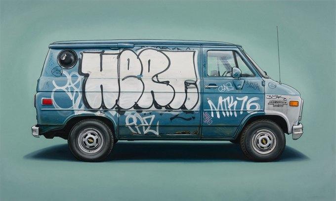 Кевин Сир: Граффити на фургонах как символ города. Изображение № 5.