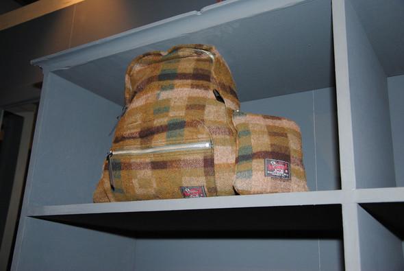 Кроме всего прочего, Марк сделал для Woolrich Woolen Mills рюкзаки — шерстяные и очень мягкие.. Изображение № 19.