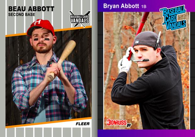 Baseball Card Vandals: Художники иронизируют над спортивными коллекционными карточками. Изображение № 33.