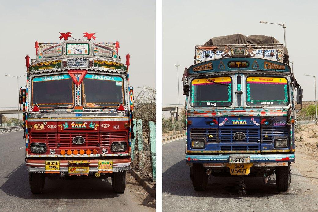 Я и друг мой грузовик: Индийские дальнобойщики и их автомобили. Изображение № 4.