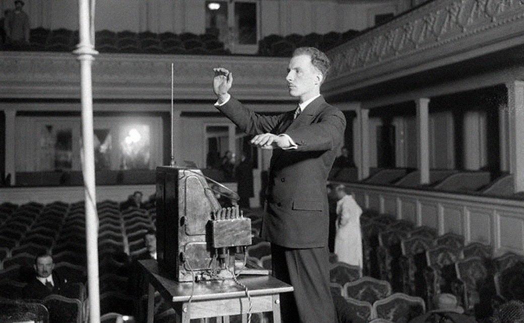 Портрет: Лев Термен, советский учёный и изобретатель. Изображение № 9.