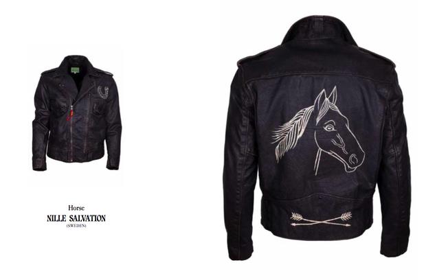 Марка Levi's Vintage Clothing выпустила коллекцию байкерских кожаных курток. Изображение № 11.