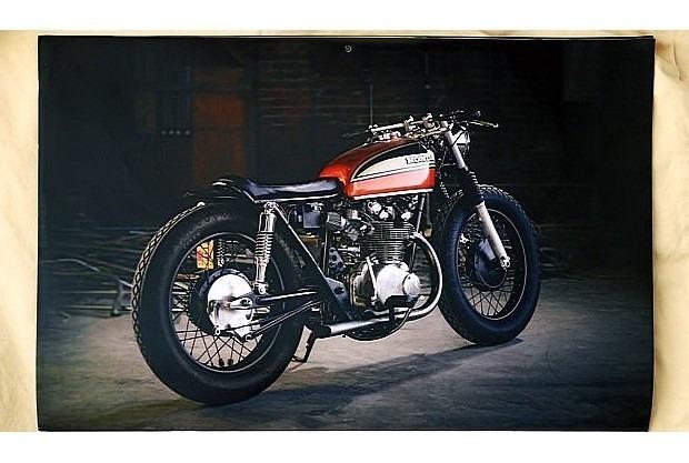 Сайт Bike EXIF выпустил календарь с кастомизированными мотоциклами. Изображение № 4.