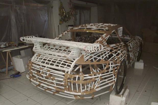 Мусоровоз: 7 примеров, как сделать машину из подручных материалов. Изображение № 17.