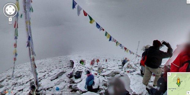 При помощи Google Street View теперь можно побывать на Килиманджаро, Эвересте и других вершинах. Изображение № 4.